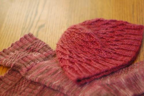 socks, hat