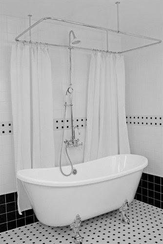 Clawfoot Tub Shower Enclosures Discount Classique Hlbt67 Bateau
