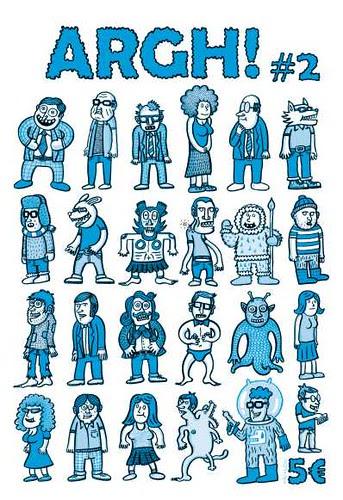 ARGH!  2, el azul