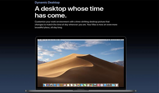 How to Enable and Disable Dynamic Desktop in macOS Mojave on Mac