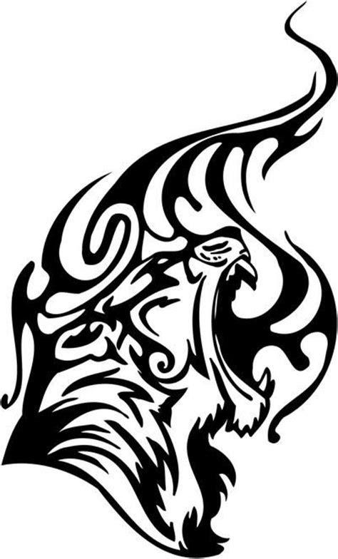 tribal tiger tattoos designs
