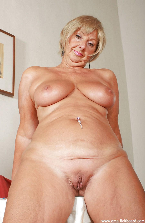 Granny nude porn
