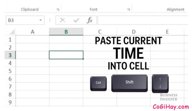 Tổng hợp những tổ hợp phím tắt hay dùng trong Microsoft Excel + Hình 12
