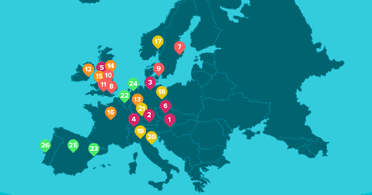 How Concert Ticket Prices Vary Across Europe
