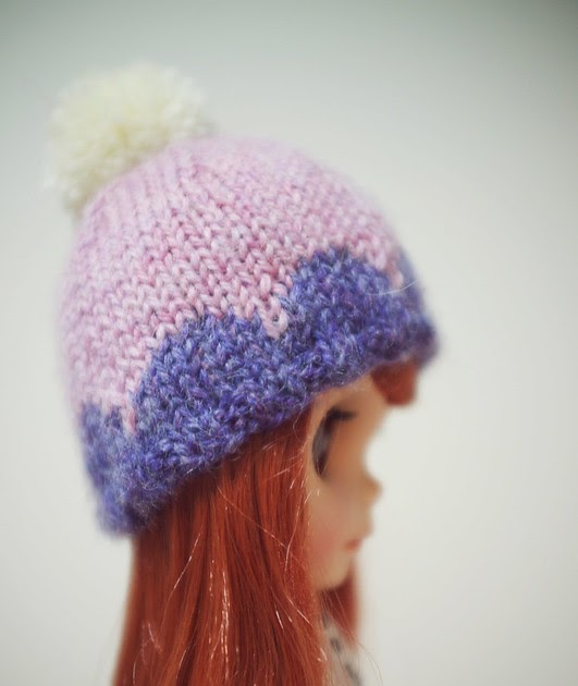 Scallop Knitting Pattern : cuteseum: Blythe scallop hat knitting (+pattern)
