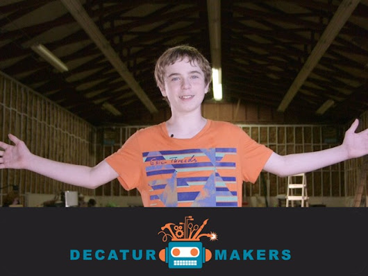 Decatur Makers. Makerspace 4 Tech + Art + Tools + Community