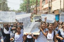 protest-march-students-raniganj