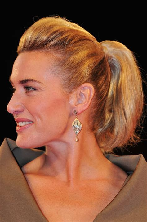 Kate Winslet   25 Perfect Ponytails For All Occasions
