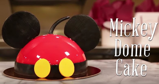 Try this at home: Mickey Dome Cake from Amorette's Patisserie | The Disney Blog