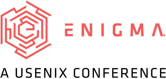 Enigma 2018 Conference Program