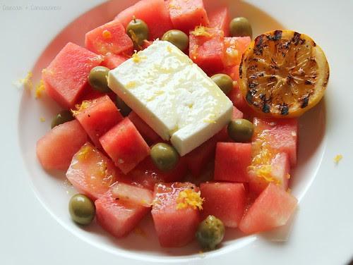 Watermelon & Feta Salad 2