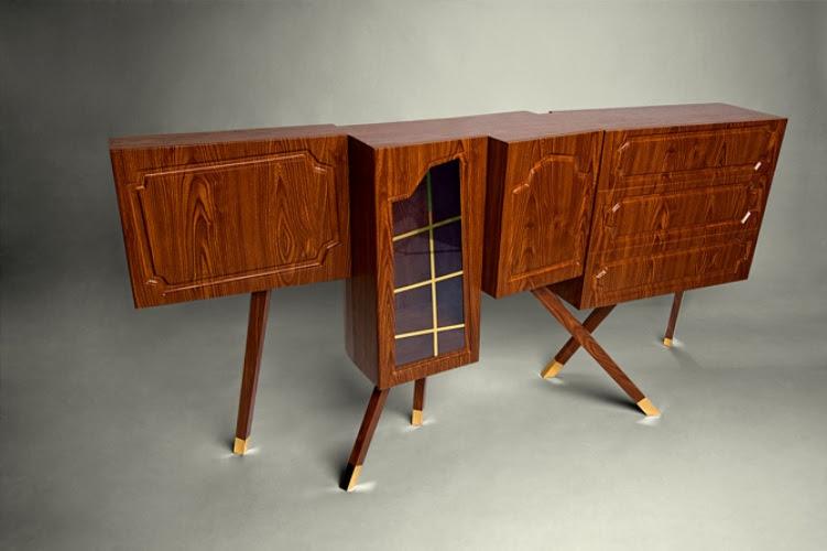 Unusual 70s Style Living Room Furniture   DigsDigs