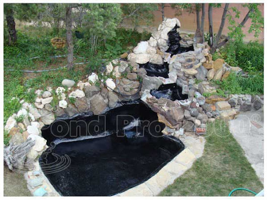 EPDM Pond Liner - Permanent Solution for your Pond Leaks Repair