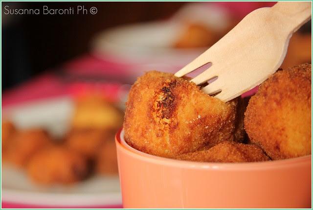 crocchette al cavolfiore e gorgonzola