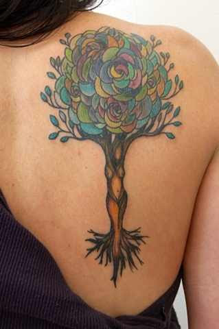 Unique Tree Of Life Tattoo Design Design Of Tattoosdesign Of Tattoos