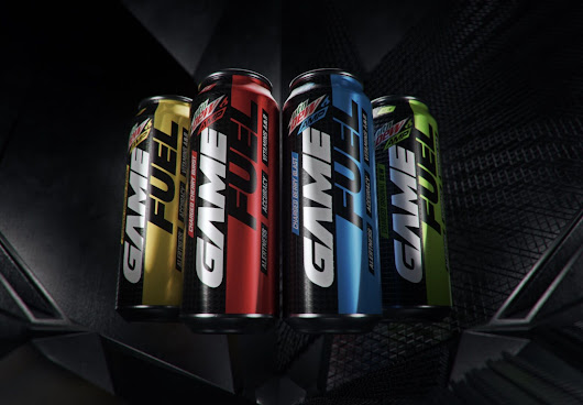MTN DEW AMP GAME FUEL: Gamer made, gamer approved drink changes the industry
