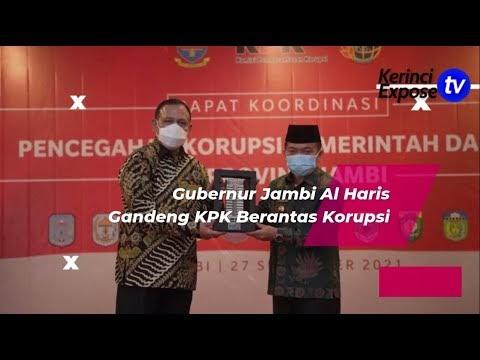 Ketua KPK RI Firli Bahuri Hadiri Rakor Pencegahan Korupsi Pemerintah Daerah Se Provinsi Jambi