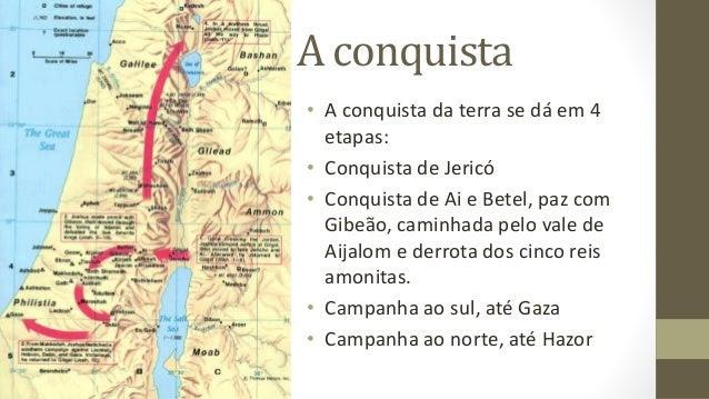 Josué - A Conquista da Terra Prometida