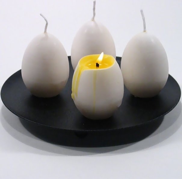 Realistic Egg Candle