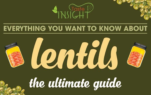 Everything You Want To Know About How to Cook Lentils [Infographic]