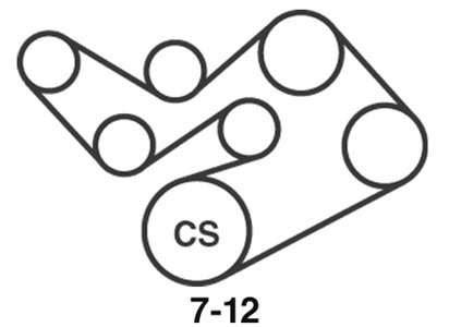 Wiring Diagram: 8 2002 Ford Taurus Belt Routing Diagram