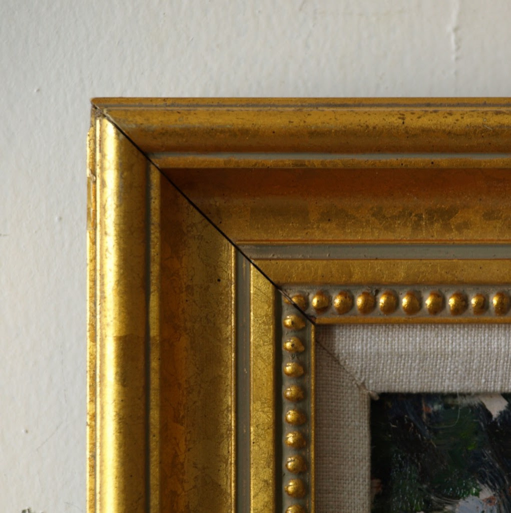 Gold Frame Beaded Inside 8 X 12 Inches Bernard Lennon Fine Art