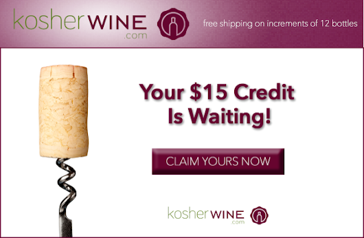 KosherWines.com $15 Off Coupon Code For 2016