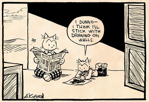 Laugh-Out-Loud Cats #2474 by Ape Lad