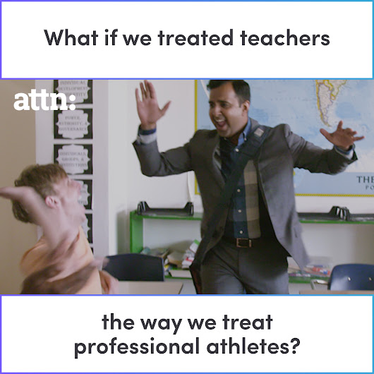 What If We Treated Teachers the Same Way We Treat Professional Athletes?