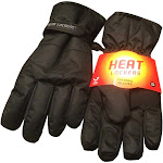 Heat Lockers Mens Thermal Gloves with Insulation lining