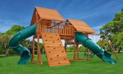 Be a Hero to your kids; Give Them a Backyard Play Set