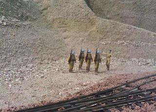 Khan troops