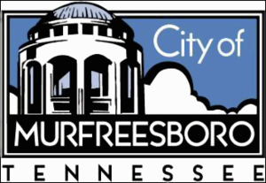 Logo for the City of Murfreesboro, Tennessee.