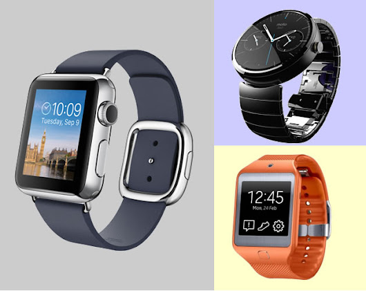 Apple Watch vs Android Wear Watches