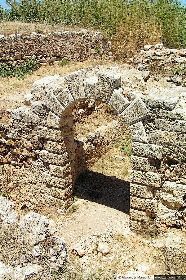 В крепости Ретимно