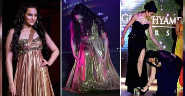 From Sushmita to Kangana, see how these celebs handled asile falls like a pro