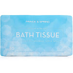Ultra Soft Bath Tissue | 30 Rolls by Prince & Spring