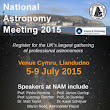 National Astronomy Meeting 2015