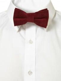 Topman Chianti Cord Bow Tie