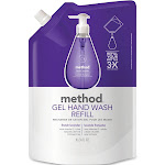 Method Gel Hand Wash Refill, French Lavender - 34 fl oz pouch
