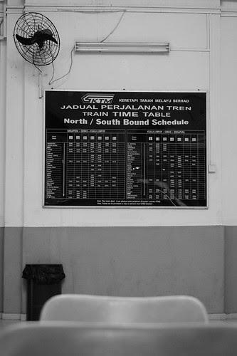 Tanjong Pagar Railway Station - Timetable