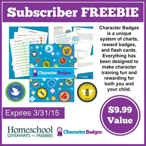 Free Character Badges Child Training System