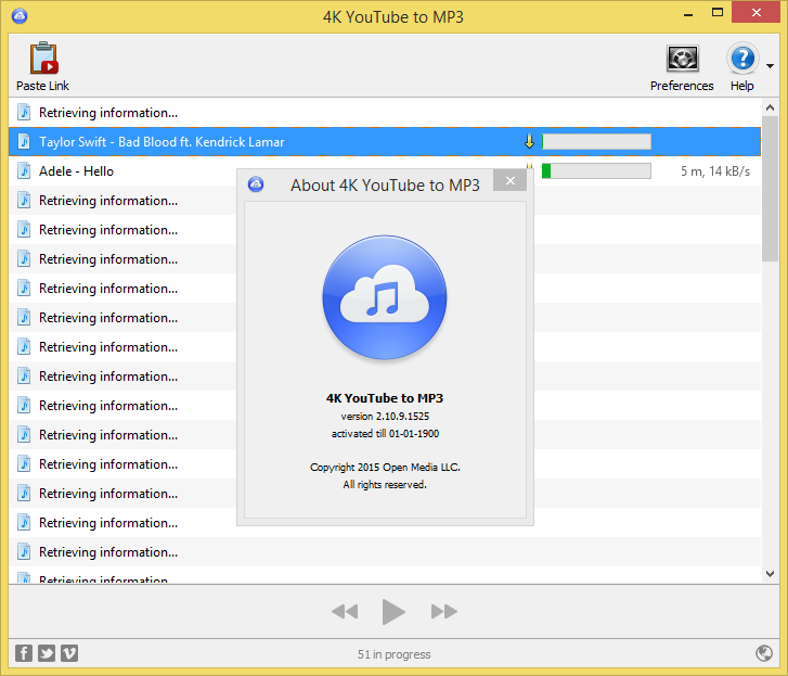 4K YouTube to MP3 3 3 0 1747 Crack License Key Full Free