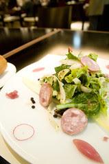 Salade d'endives au Cervelas et Vinaigrette Aigre Douce, Café Troisgros, Shinjuku