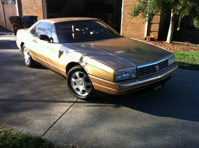 Cadillac Allante Convertible 1987 Gold For Sale ...