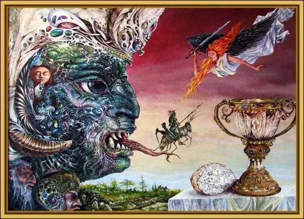 Peinture d'Otto Rapp