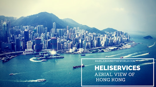 Heliservices, Hong Kong: An aerial view of Victoria Harbour