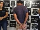 Polícia apresenta suspeito de abusar da filha durante três anos, em Goiás