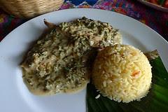 Guatemala - Kacao pollo loroco