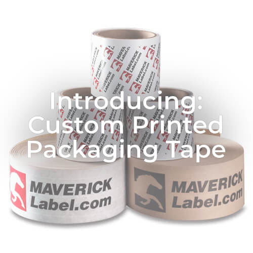 Introducing: Custom-Printed Packaging Tape - MaverickLabel Blog